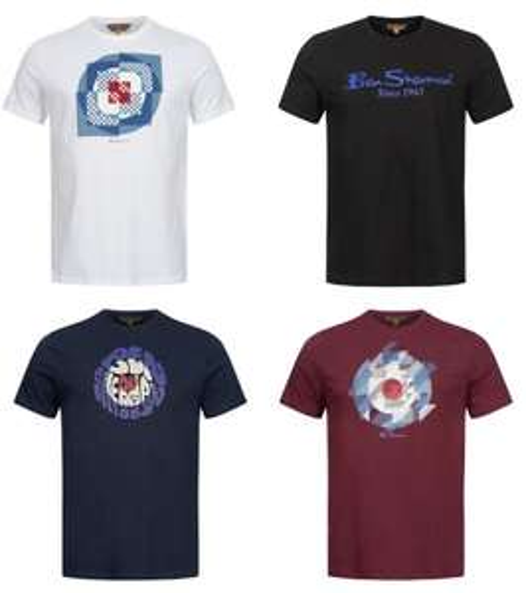 Ben Sherman T-Shirts verschiedene Designs