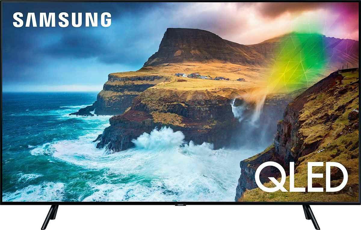 "Samsung GQ49Q70R + 50€ Cashback (49"", UHD, VA, FALD, 60Hz, 8bit+FRC, ~700cd/m², 2x Triple Tuner, 4x HDMI, 2x USB, ~15ms Input Lag, Tizen)"