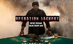 """[Groupon] Online Escape Game """"Operation Jackpot"""""""