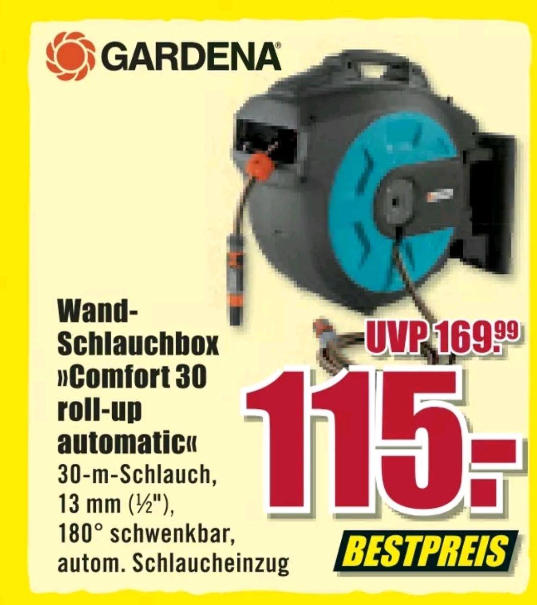 B1 BAUMARKT Gardena Wand Schlauchbox Comfort 30