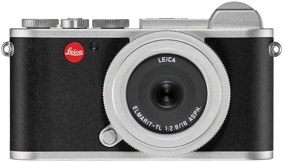 LEICA CL Systemkamera silber inkl. 18F2,8 Objektiv
