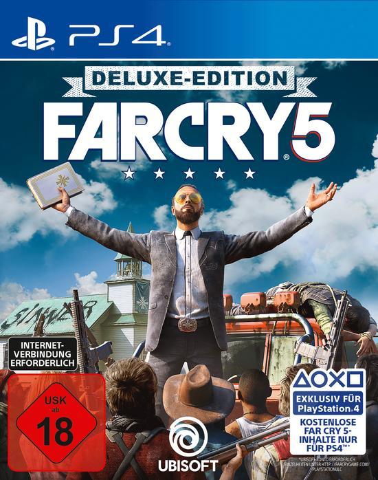 Far Cry 5 Deluxe Edition (PS4) für 22,99€ (Amazon)