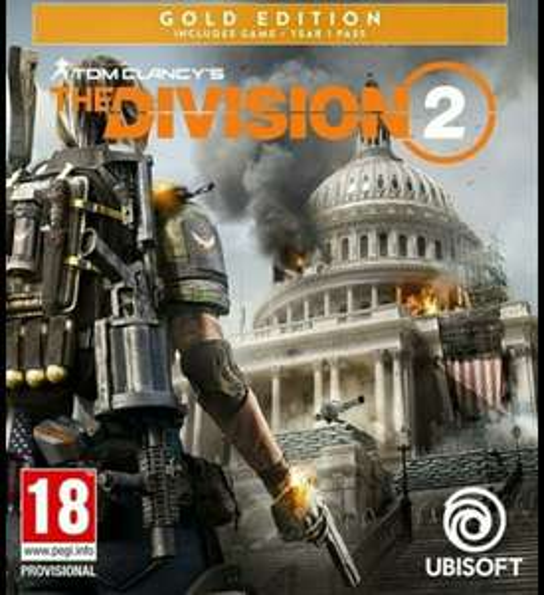 Tom Clancy's The Division 2 - Gold Edition für PS4, Xbox One für 21,50 EUR