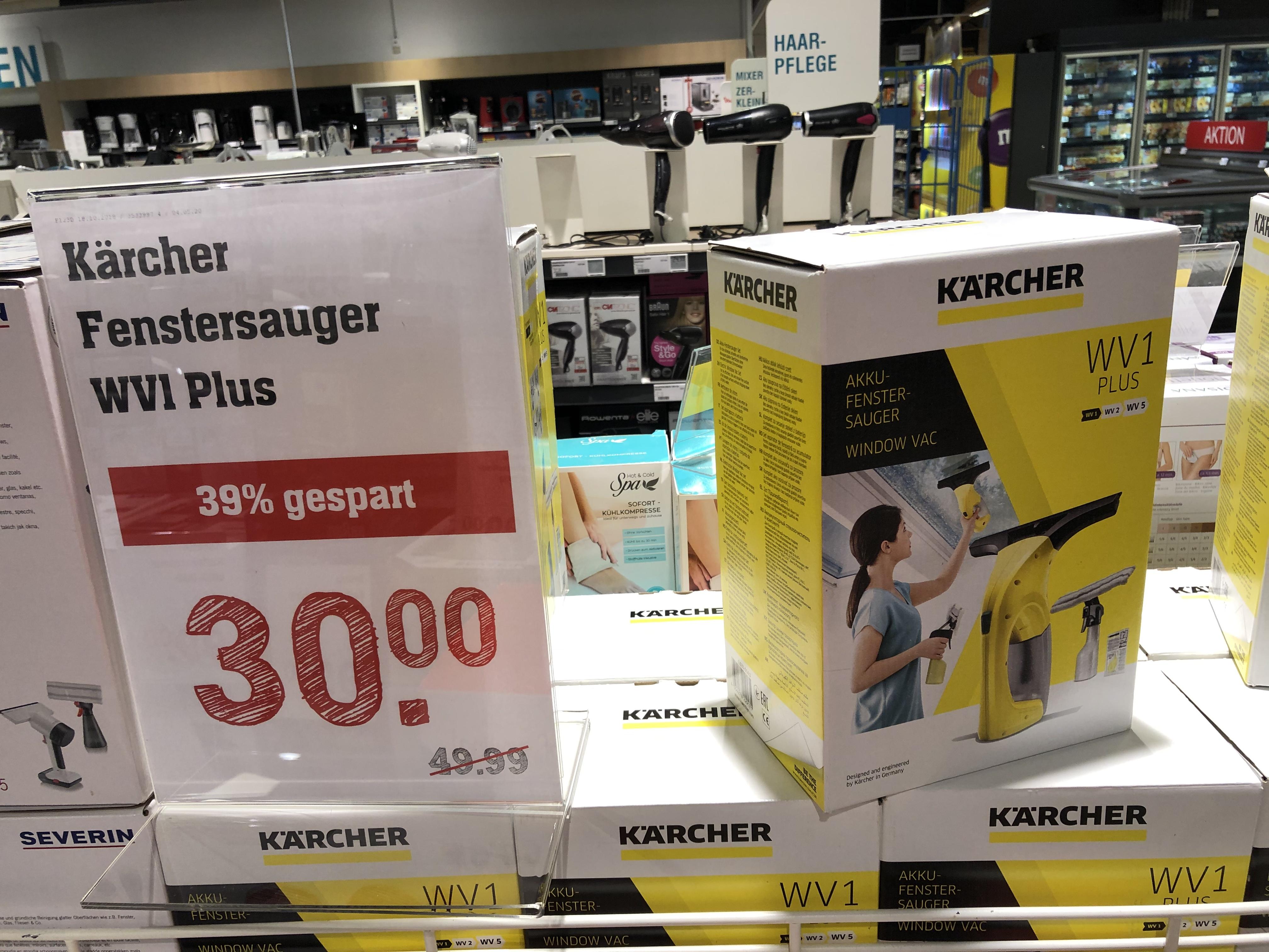 [Lokal] Rewe Center Darmstadt - Kaercher WV1 Plus Fensterreiniger