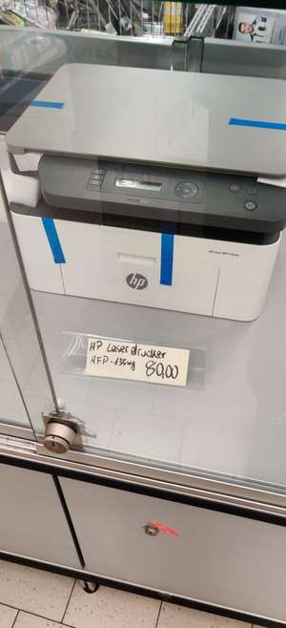 LOKAL Aldi Berlin Wedding - Laserdrucker HP MFP135WG