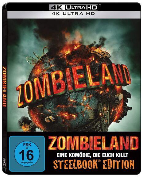 Zombieland 4K Limited Steelbook Edition (4K Ultra HD Blu-ray) für 19,99€ (Amazon Prime & Saturn Abholung)