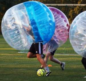 COUNTRYSIDE® Bubble Ball im Angebot / kontaktloser Breitensport - Bubble Ball regelt