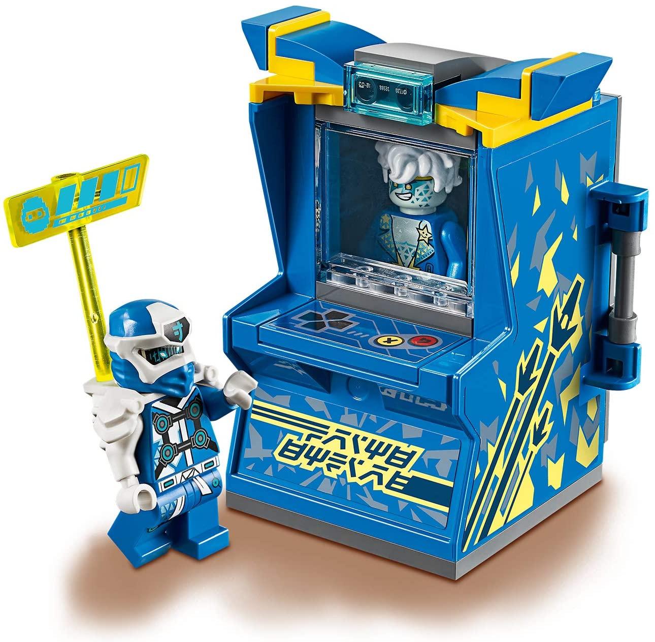 NINJAGO Avatar (Jay, Lloyd & Kai) Tragbare Arcade Kapsel, Ninja-Spielzeug für je 6,99€ (Amazon Prime & Müller Abholung)