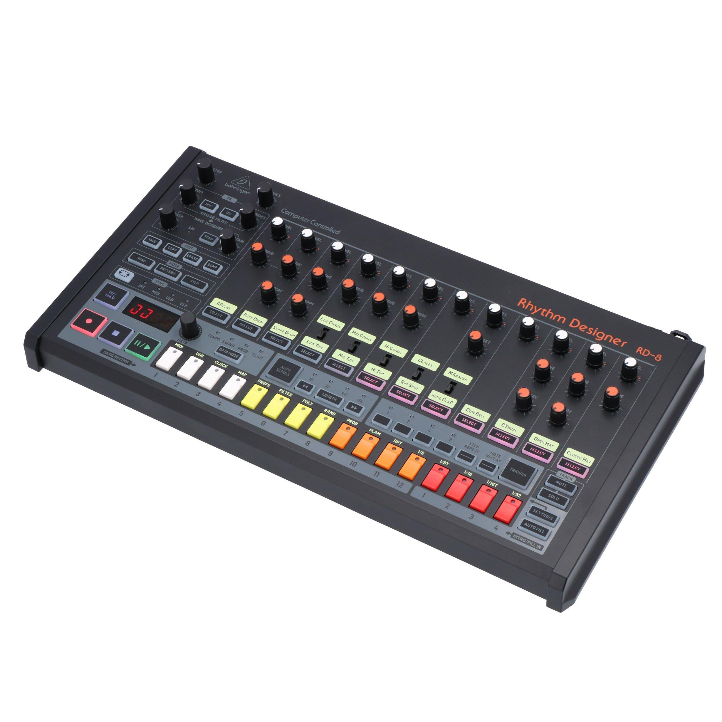 [bax-shop] Behringer RD-8 Analoge Drum Maschine