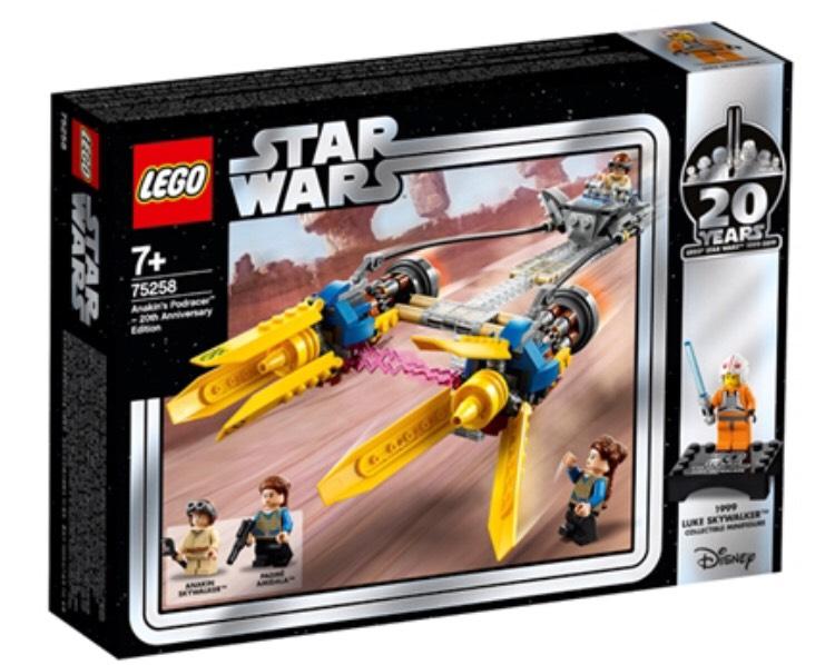 LEGO 75258 StarWars 20 Years Anakins Podracer