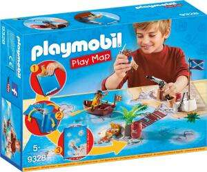 Playmobil Play Map Piraten (9328) für 9,99€ (Amazon Prime & Playmobil Shop)