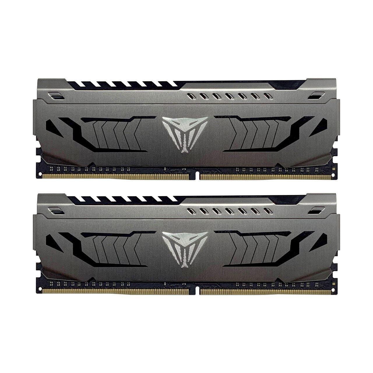 2x 8GB Patriot Viper Steel DDR4 4000MHz CL19 Samsung B-Die PVS416G400C9K