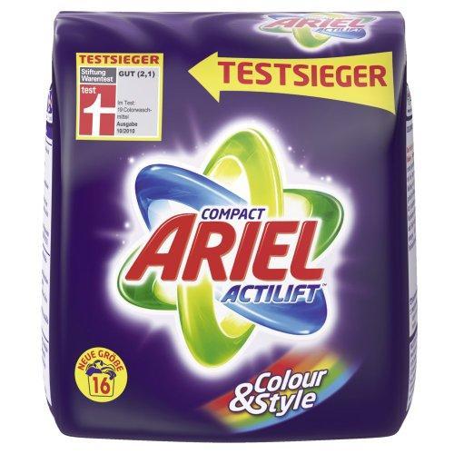 [Lokal Norddeutschland] 2 Pakete Ariel mit 16 WL für 3,66/4€ (11,44/12,5 Cent/Waschladung) bei Budni/Edeka Nord