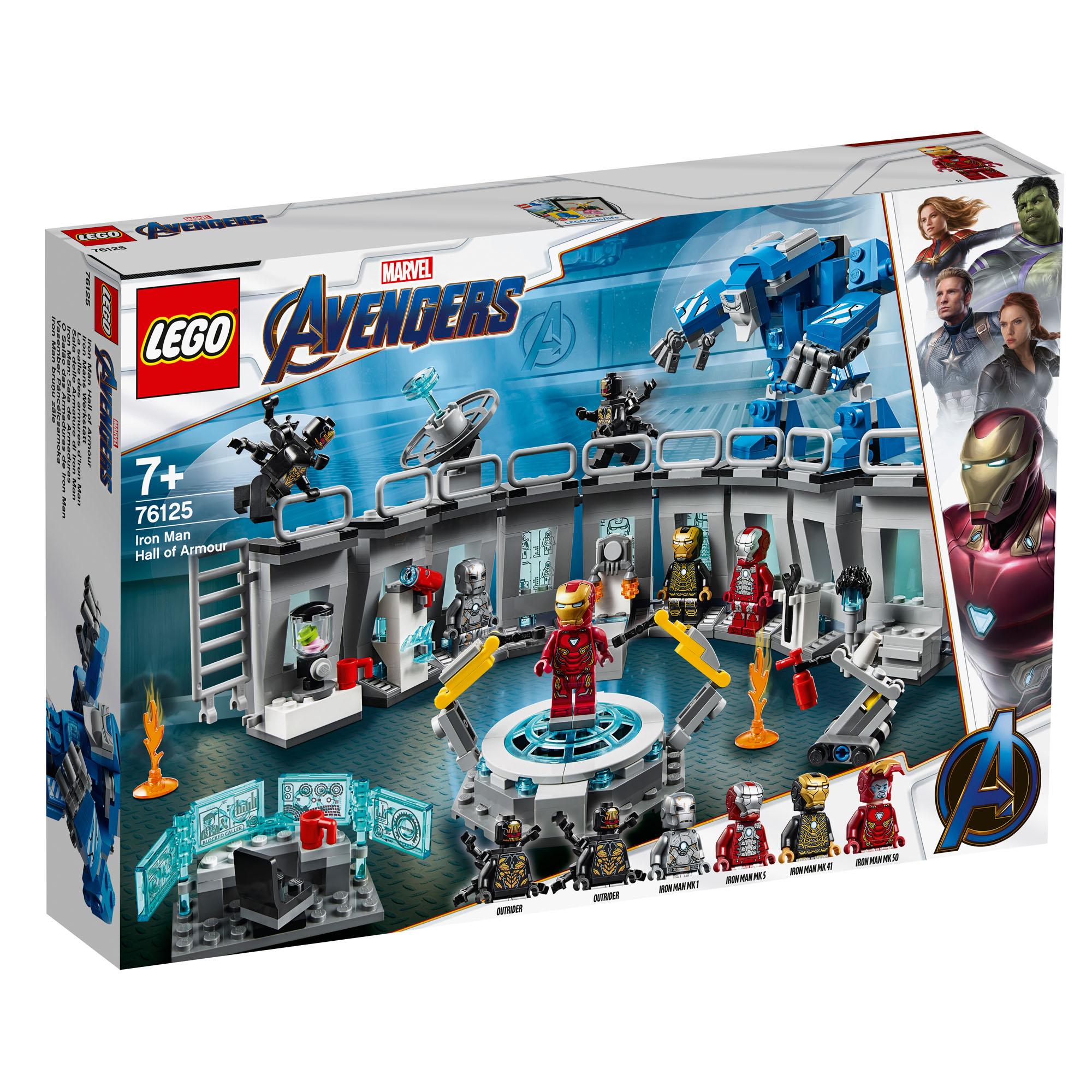 (PRIME) z.B. Lego 76125 Iron Mans Werkstatt mit Coupon für 40,04
