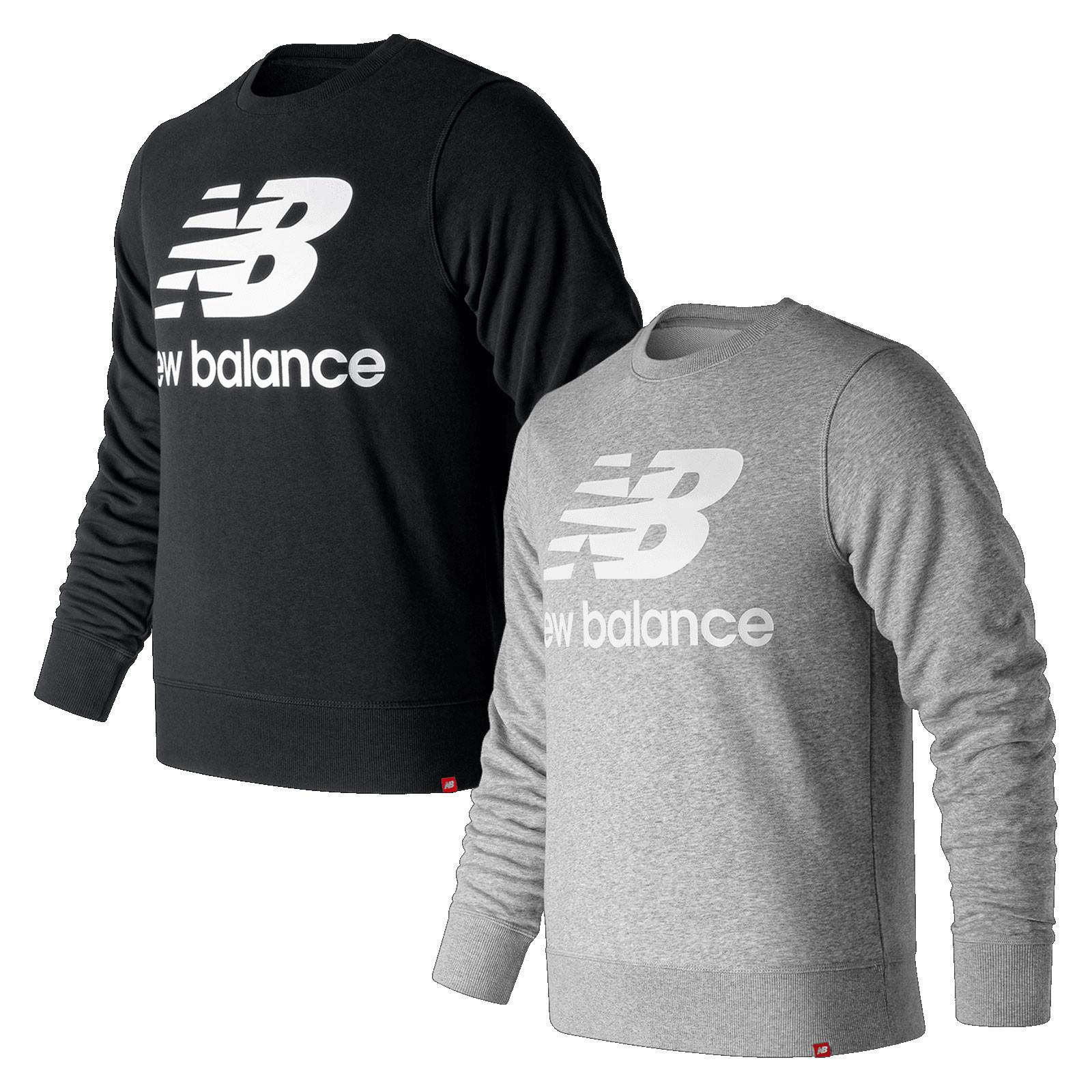 New Balance Freizeitpullover Essential Stacked Logo