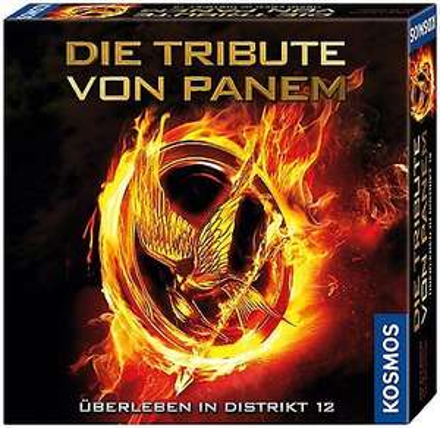 Die Tribute von Panem - Überleben in Distrikt 12 - Brettspiel