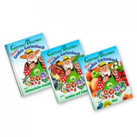 Gärtner Pötschke Gartenbuch-Sortiment, 3 Bände