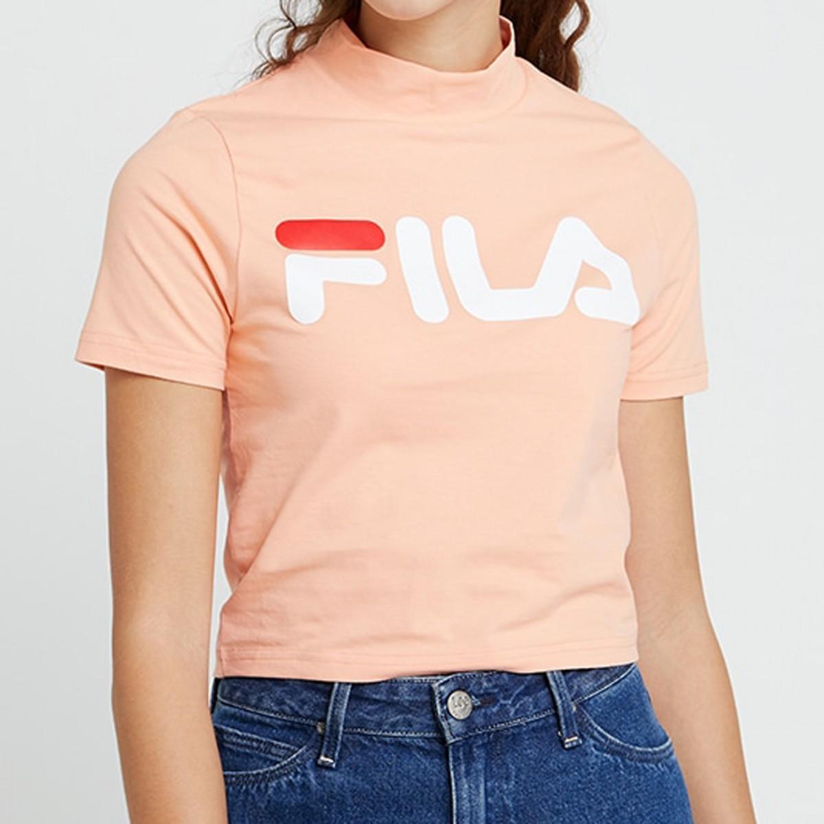 Fila 'Every' Turtle T-Shirt für Damen in Rosa (Gr. XS-L)