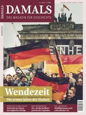 """Jahresabo (14 Ausgaben) der Zeitschrift """"Damals"""" für 97,66€ + 100€ Amazon Gutschein"""
