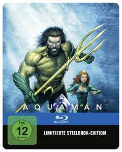 Aquaman Illustrated Artwork Limited Steelbook Edition (Blu-ray) für 14,21€ (Amazon Prime)