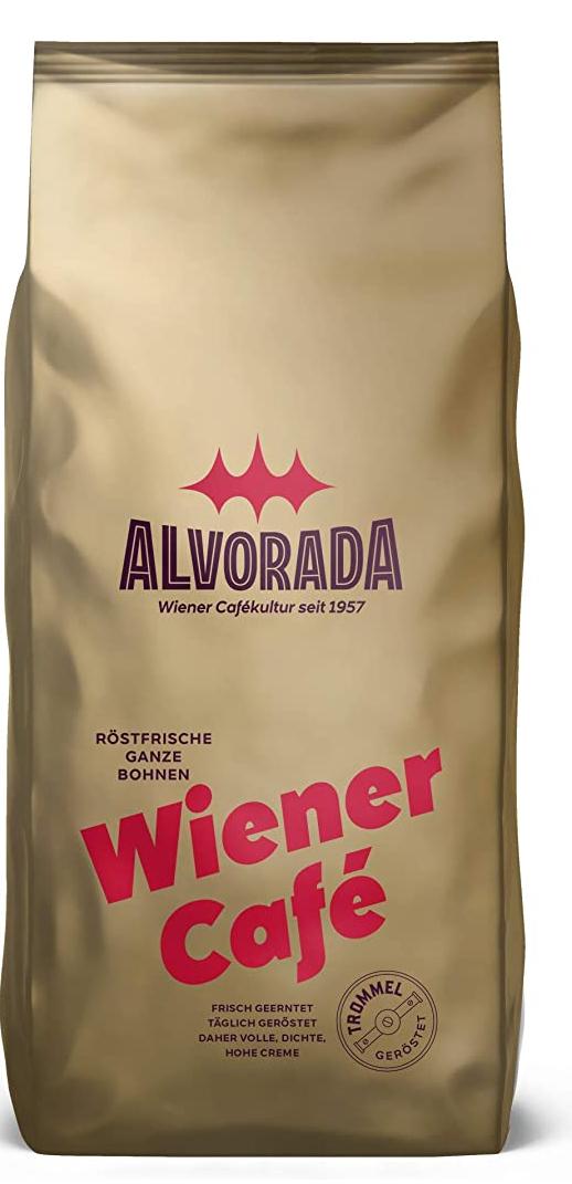 Alvorada,V711013, Wiener Café, Röstkaffee, ganze Bohnen 1 Kg, Prime