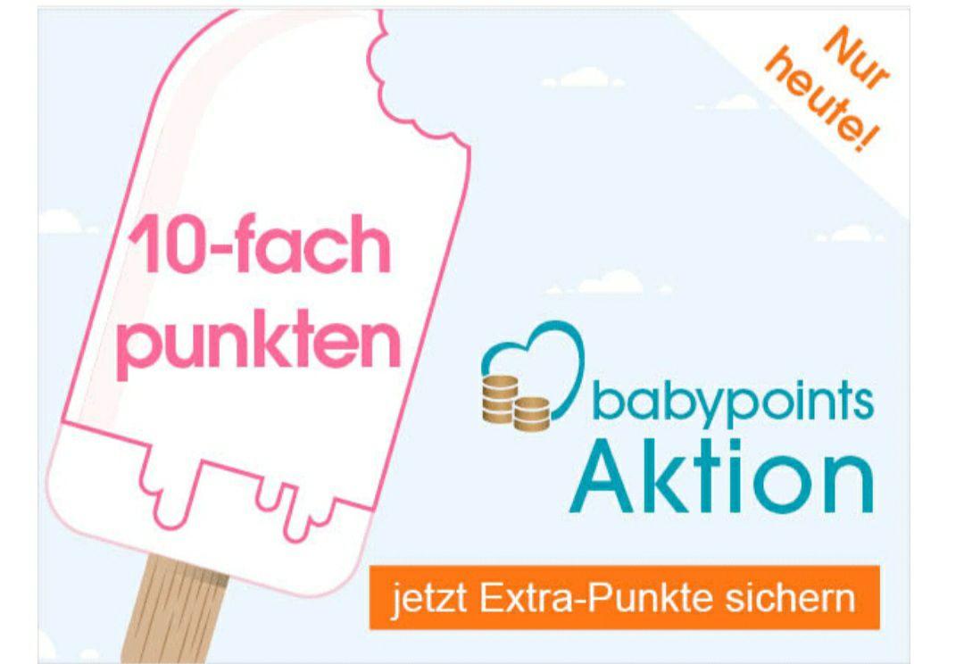 10-fach Punkten bei Babymarkt (Babypoints)