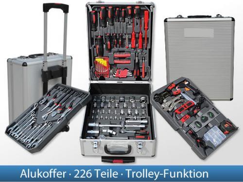 226 tlg Werkzeugkoffer für 79,- inkl Versand. Idealopreis: 94,94 €