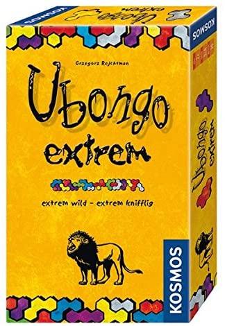 Ubongo und Ubongo Extreme Mitbringspiel - schnelles Legespiel für die ganze Familie mit bis zu 4 Spielern ab 7 Jahren