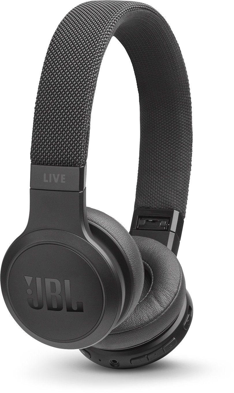 JBL Live 400 BT, On-ear Kopfhörer, Headsetfunktion, Bluetooth, schwarz & weiß [Saturn]