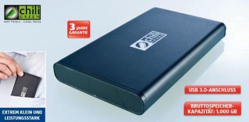 "2,5"" externe Festplatte mit 1TB"