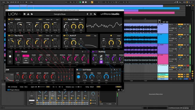 [VST] Unfiltered Audio LION Soft-Synthesizer mit nahezu unendlichen Möglichkeiten