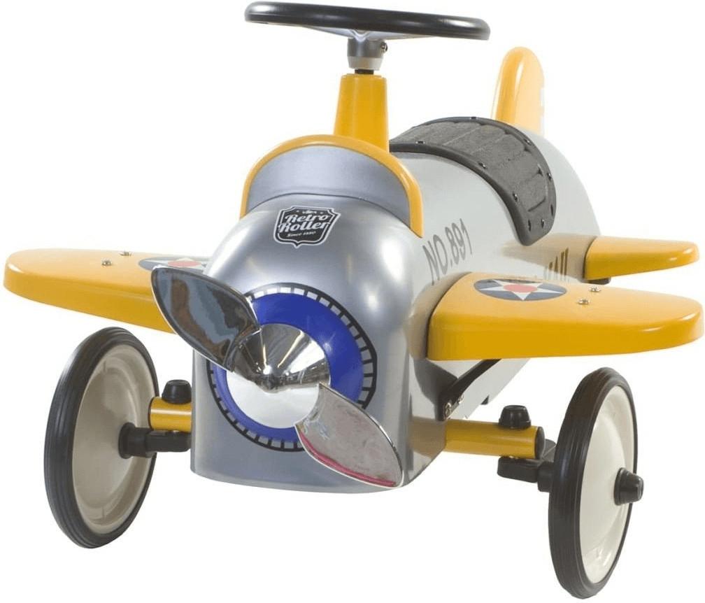 Retro Roller Aeroplane Charles - Laufauto