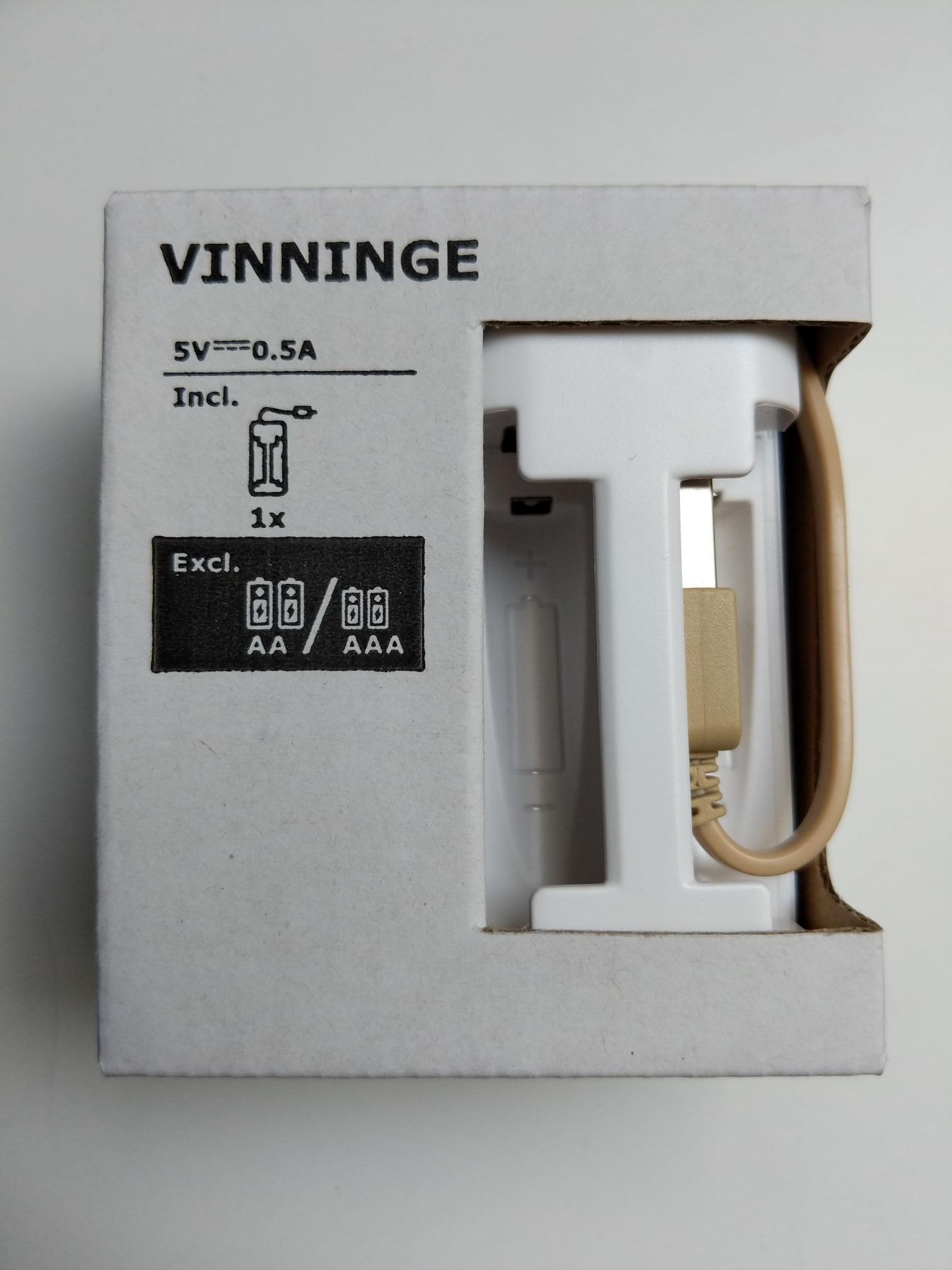 IKEA Vinninge Akku Ladegerät USB (Lokal Frankfurt am Main)