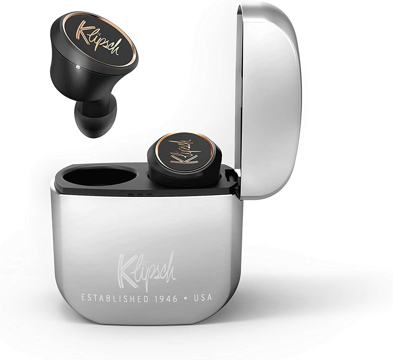 Klipsch T5 True Wireless Bluetooth-Kopfhörer - aptX, AAC (Amazon.fr)