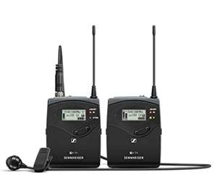 Sennheiser Drahtlos-Lavaliermikrofon-Set (EW 122P G4-A1)