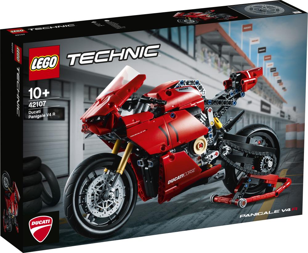 Lego Technic Ducati Panigale V4 R 42107 günstig kaufen: Euro 47,99