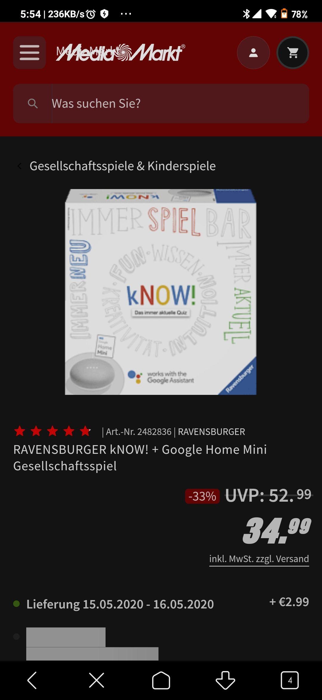 Ravensburger KNOW! + Google Home