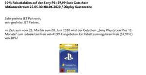 Days of Play - PS4 PlayStation Plus Gutschein für 12 Monate