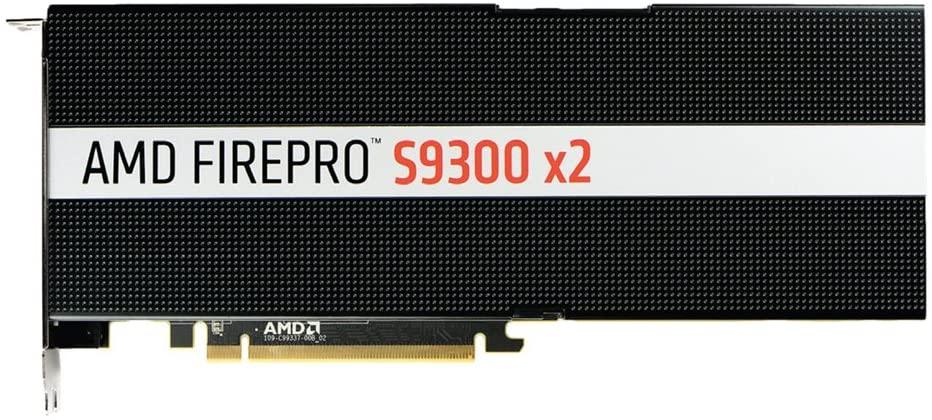 AMD FirePro S9300 x2 FirePro S9300 x2 8GB High Bandwidth Memory (HBM) - Grafikkarten (FirePro S9300 x2, 8 GB, PCI Express x16 3.0)