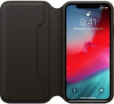 [Ebay] Apple iPhone XS echt Leder Folio Case MRWW2ZM/A Cover Hülle Tasche EC Kartenfach