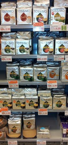 [Lokal - Globus Stockstadt] Tassimo Jacobs Krönung XL 16er und andere Sorten für je 2,99€