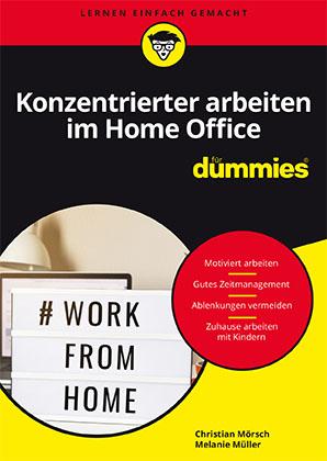 """Kostenlos """"Konzentrierter Arbeiten im Homeoffice für Dummies"""" im PDF-Format"""