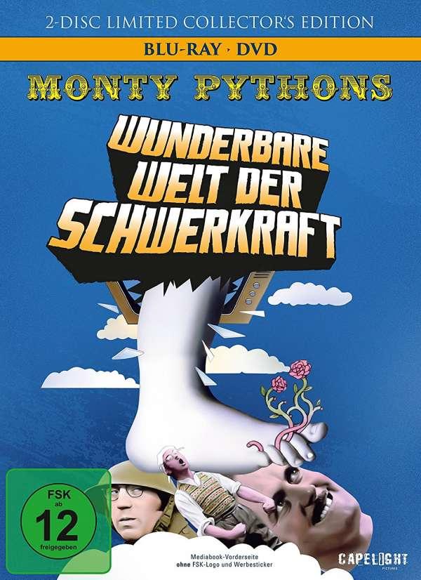 Monty Python's Wunderbare Welt der Schwerkraft Limited Mediabook Edition (Blu-ray + DVD) für 10,49€ (JPC)