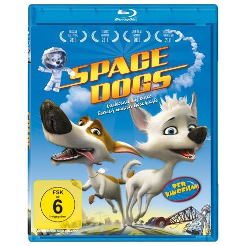 [Blu-ray] Space Dogs - Der Kinofilm für 4,99 EUR inkl. Versand @ Amazon.de