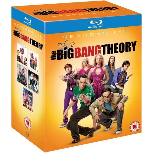 Big Bang Theory 1-5 Blu-Ray Box