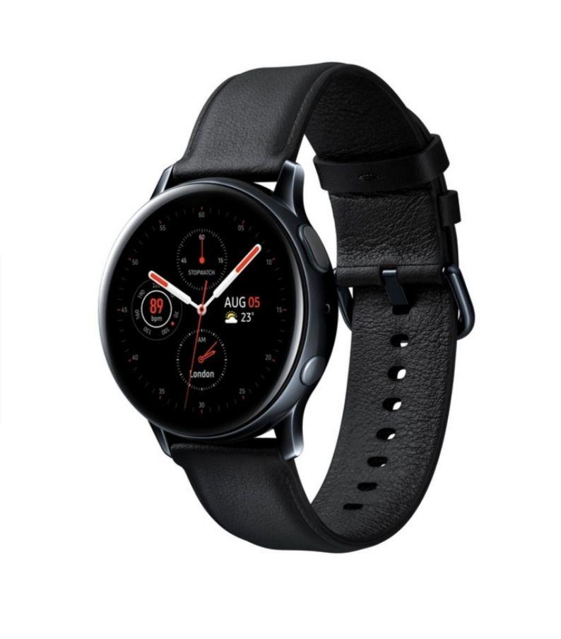 Expert (Online + Offline, aber nur in einer Filiale) - Samsung Galaxy Watch Active 2 40mm stainless steel Bluetooth schwarz Smartwatch