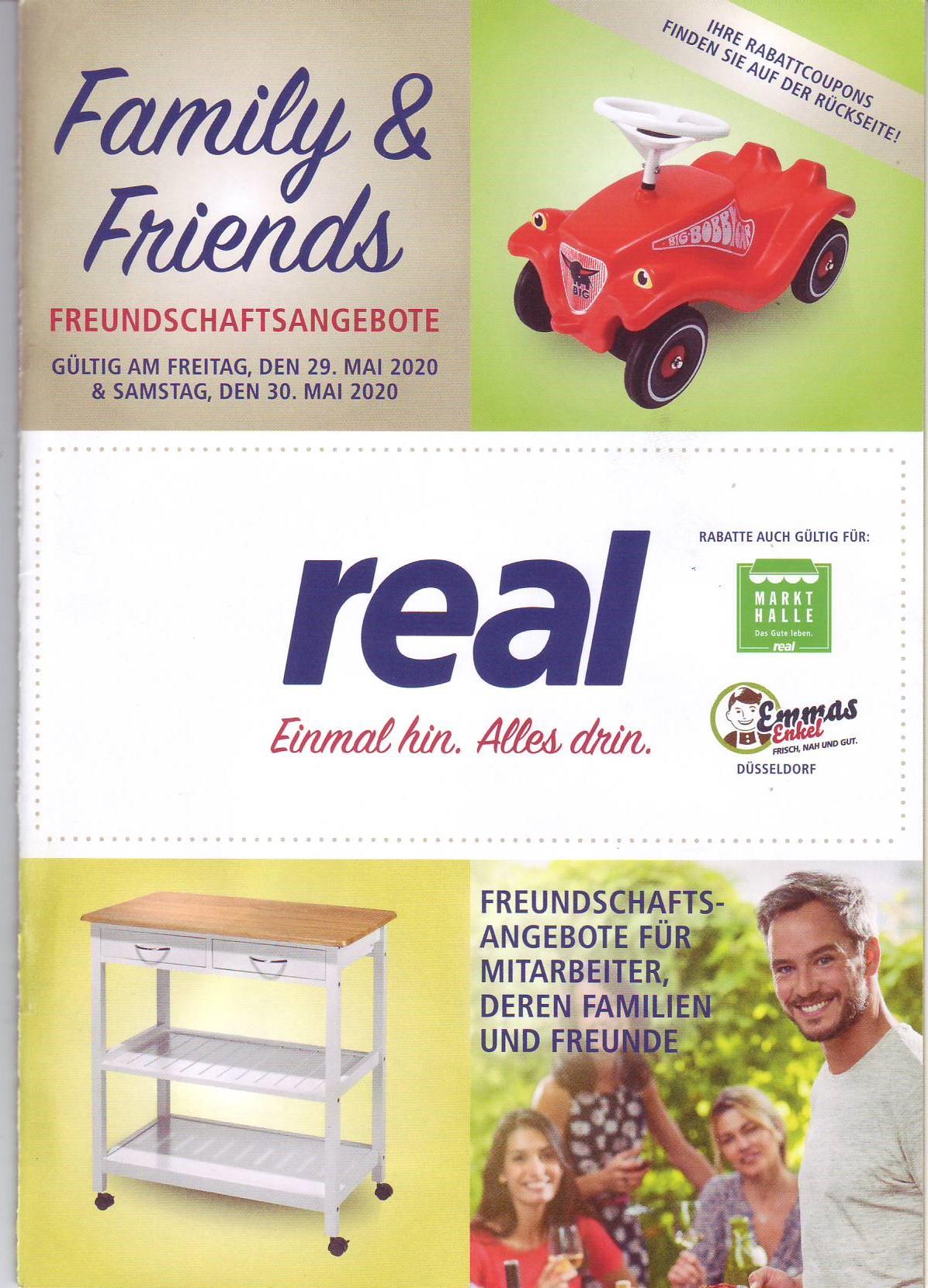 Real Friends und Family 29+30.5: 217cm TV 1520€, 3D-Drucker 295€, 30% auf Makita & PS-Spiele, Airpods 2 120€