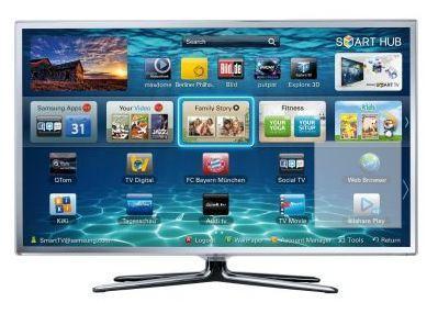 (offline) Samsung LCD 3D-Ferseher UE40ES6710 40 Zoll/101cm INKL 2 Brillen für 599,00 in Hamburg Cyberport Filiale