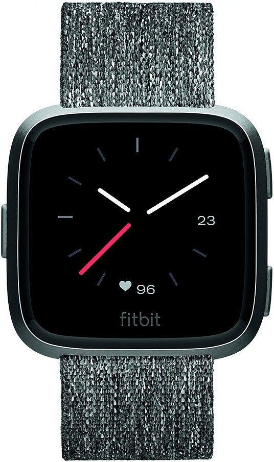 FitBitVersa Special Edition, Fitnesstracker(schwarz/grau, Gewebearmband) [Alternate]