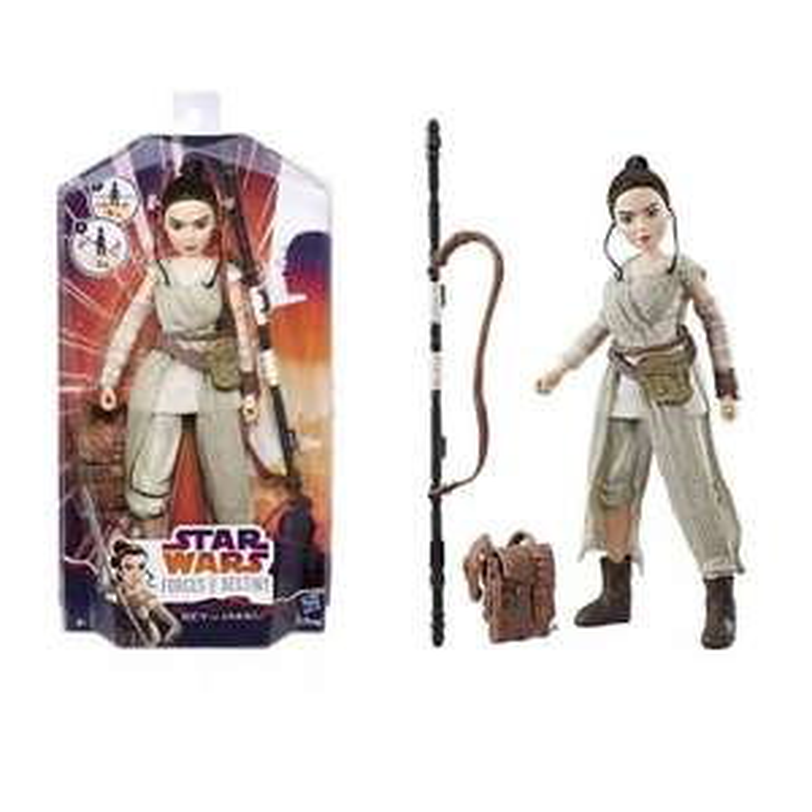 """[ACTION] Hasbro Star Wars Actionfiguren """"Die Mächte des Schicksals"""" 28 cm für 3,99€"""